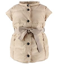Ver de Terre Gilet w. Belt - Down - Light Rose