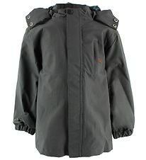byLindgren Rain Jacket - Little Balder - Charcoal