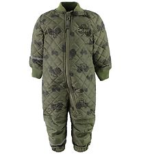 CeLaVi Thermo Suit - Army Green w. Tractors