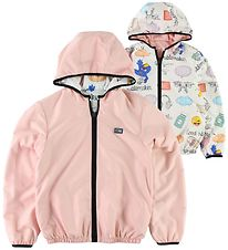 Fendi Kids Jacket - Reversible - Pink/White w. Print