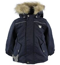 Wheat Winter Coat - Vilmar - Navy