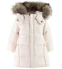 Ver de Terre Down Jacket w. Fur Hood - Powder