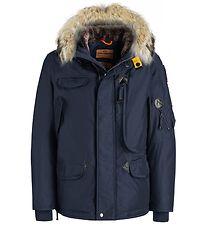 Parajumpers Down Jacket w. Fur Hood - Right Hand - Navy