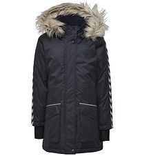 Hummel Winter Coat - HMLStinna - Navy Melange