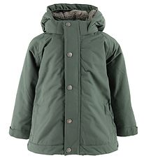 En Fant Winter Coat - Dusty Green