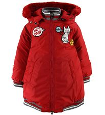 Dolce & Gabbana Down Jacket - Red w. Patches