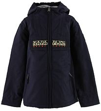 Napapijri Winter Coat - Rainforest Open - Navy
