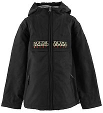Napapijri Winter Coat - Rainforest Open - Charcoal