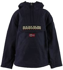 Napapijri Winter Coat - Rainforest Anorak - Navy