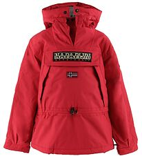 Napapijri Winter Coat - Skidoo Anorak - Red