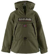Napapijri Winter Coat - Skidoo Anorak - Green