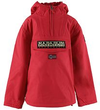 Napapijri Winter Coat - Rainforest Anorak - Red