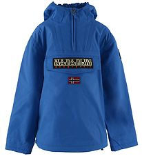 Napapijri Winter Coat - Rainforest Anorak - Blue