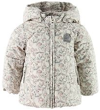 Wheat Disney Padded Jacket - Ivory w. Bambi