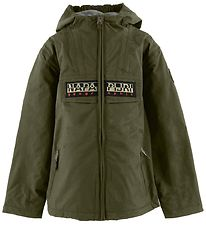 Napapijri Jacket - Rainforest Open - Army Green
