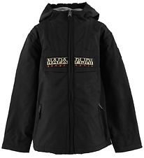 Napapijri Jacket - Rainforest Open - Black