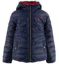 Polo Ralph Lauren Down Jacket - Reversible - Navy/Red