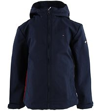 Tommy Hilfiger Jacket - Navy w. White/Red