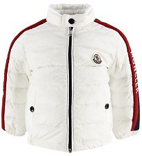 Moncler Down Jacket - Acteon - White/Navy/Red