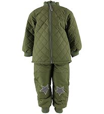 Mikk-Line Thermo Suit - Army