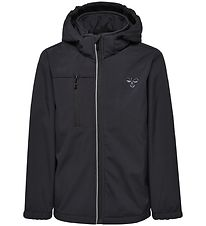 Hummel Softshell Jacket w. Fleece - Christer - Black