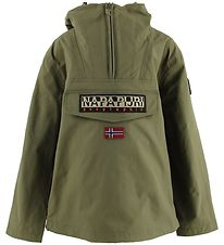 Napapijri Lightweight Jacket - Rainforest Sum - Army Green
