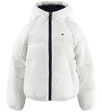 Tommy Hilfiger Padded Jacket - Short Puffer - Bright White