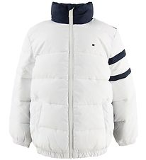 Tommy Hilfiger Padded Jacket - Colour Block - Bright White