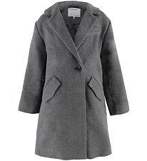 Designers Remix Coat - Wool - Hardy - Dark Grey Melange