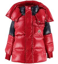 Moncler Goose-Down Jacket - Sigean - Red/Navy