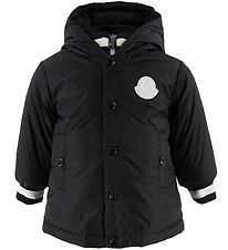 Moncler Goose-Down Jacket - Thau - Black