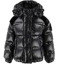Moncler Goose-Down Jacket - Chouette - Black