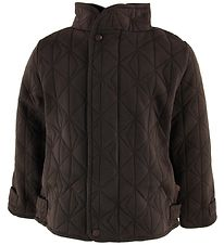 byLindgren Thermo Jacket w. Fleece - Little Leif - Dark Coffee