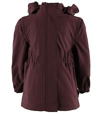 byLindgren Rain Jacket w. Fleece - Gudrun - Dark Heather