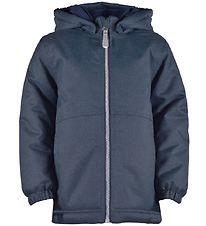 Mikk-Line Winter Coat - Navy Melange