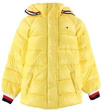Tommy Hilfiger Padded Jacket - High Shine Puffer - Aspen Gold