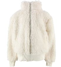 Hound Lightweight Jacket - Off White Teddy