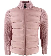Moncler Cardigan - Wool/Down - Rose