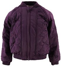 Small Rags Bomber Jacket - Plum