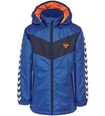 Hummel Winter Coat - HMLJens - Blue/Navy w. Angles