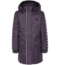 Hummel Winter Coat - HMLJeanne - Dark Purple w. Angles