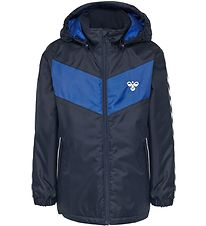 Hummel Winter Coat - HMLJens - Navy/Blue w. Angles