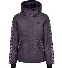Hummel Winter Coat - HMLVivi - Dark Purple w. Angles