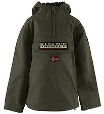Napapijri Winter Coat - Rainforest Anorak - Green Forest