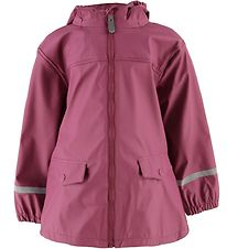 Color Kids Rain Jacket - Eldon - PU - Malaga Rose