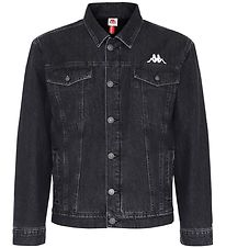 Kappa Denim Jacket w. Lining - Bascino - Black