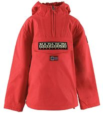 Napapijri Winter Coat - Rainforest Anorak - High Risk Red
