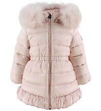 Moncler Down Jacket - Nouvelle - Rose w. Fur