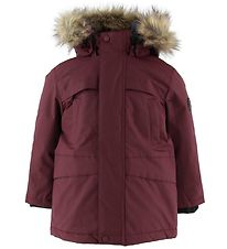 Color Kids Winter Coat - Sultan - Burgundy