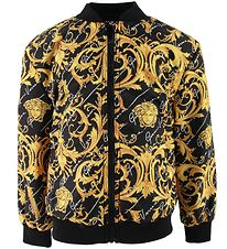 Versace Bomberjacket - Black/Yellow